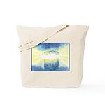 Birthday Box Watercolor Tote Bag