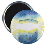 Birthday Box Watercolor Magnet