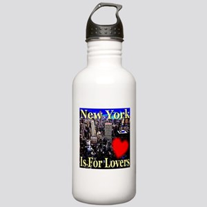 New York Is For Lovers Stainless Water Bottle 1.0L