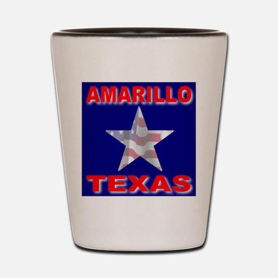 Amarillo Texas Shot Glass