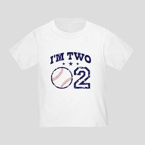Two Year Old Baseball Toddler T-Shirt