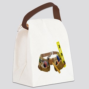 ToolBelt071809 Canvas Lunch Bag