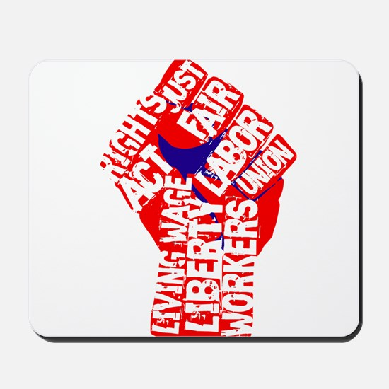 Worker's Civil Rights Mousepad