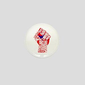 Worker's Civil Rights Mini Button