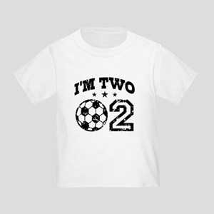 Two Year Old Soccer Toddler T-Shirt