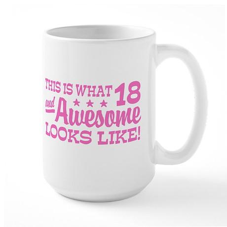 Funny 18th Birthday Large Mug
