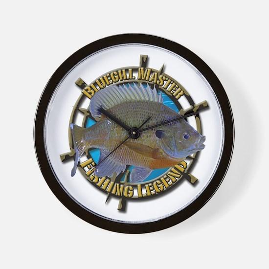 Bluegill Master Wall Clock