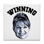 Palin Winning Tile Coaster