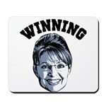 Palin Winning Mousepad
