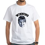 Palin Winning White T-Shirt