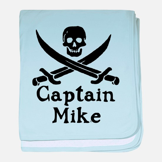 Captain Mike baby blanket