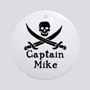 Captain Mike Ornament (Round)