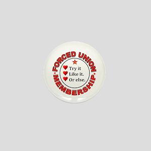 JUST VOTE NO Mini Button (10 pack)
