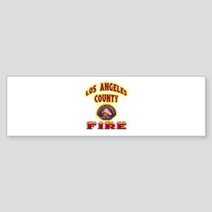 Los Angeles County Fire Sticker (Bumper)
