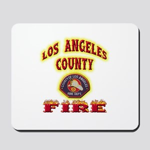Los Angeles County Fire Mousepad