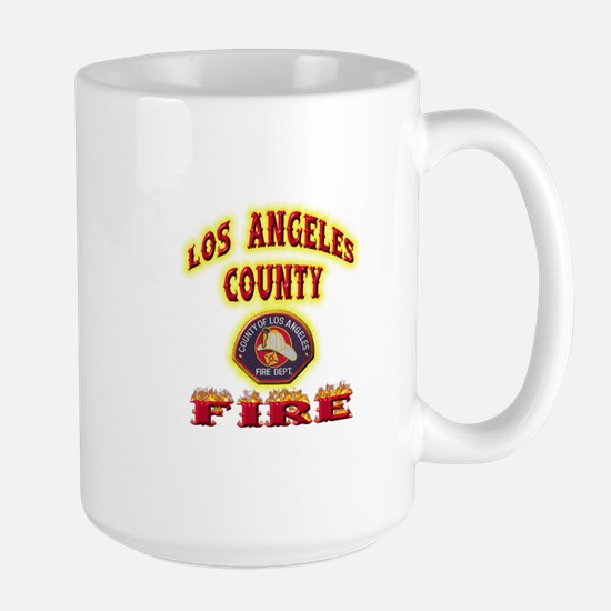 Los Angeles County Fire Large Mug