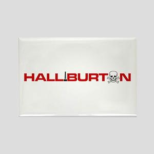 Halliburton Rectangle Magnet