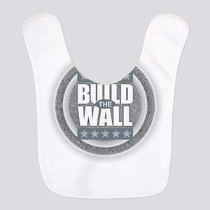 Build the Wall Polyester Baby Bib