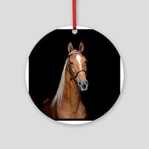Sorrel Horse Ornament (Round)