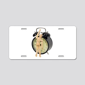 TimeOverwhelming112409 Aluminum License Plate