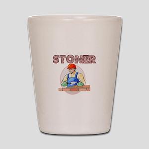 Stoner Shot Glass