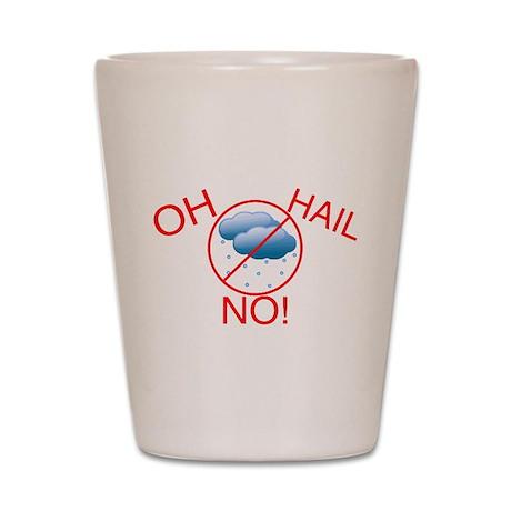 Oh Hail No Shot Glass