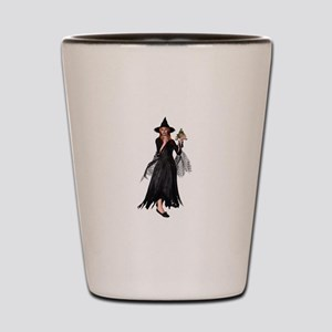 Witch Frog Shot Glass