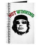 Gaddafi Not Winning Journal