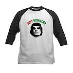 Gaddafi Not Winning Kids Baseball Jersey