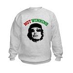 Gaddafi Not Winning Kids Sweatshirt