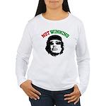 Gaddafi Not Winning Women's Long Sleeve T-Shirt