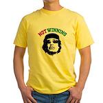 Gaddafi Not Winning Yellow T-Shirt