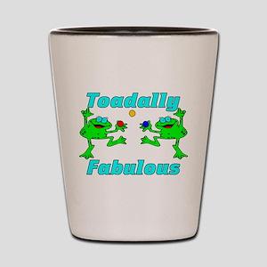 Toadally Fabulous Shot Glass