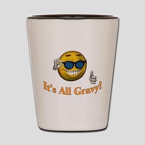 All Gravy Shot Glass