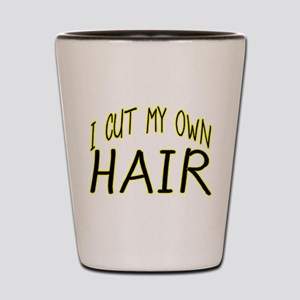 Hair Cut Shot Glass