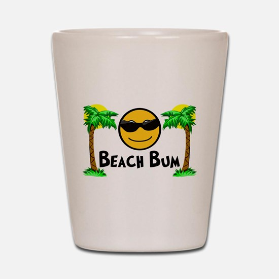 Beach Bum Shot Glass