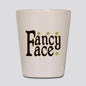 Fancy Face Shot Glass
