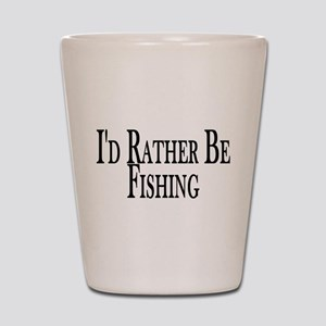 Rather Be Fishing Shot Glass