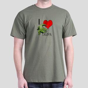 I love Tampa gators t-shirt s Dark T-Shirt