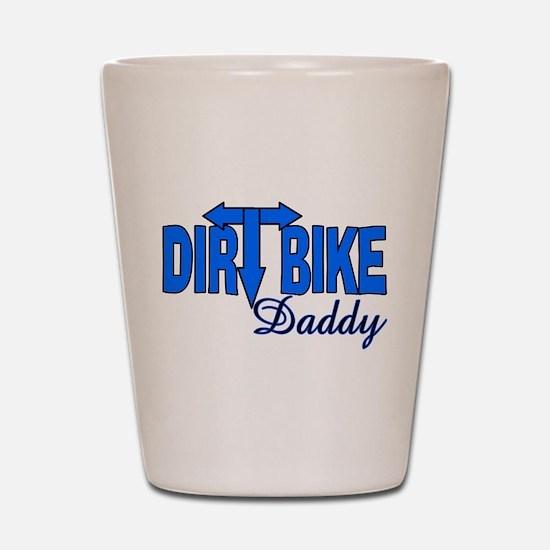 Dirt Bike Daddy Shot Glass