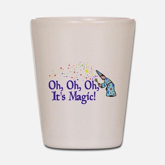 It's Magic Shot Glass