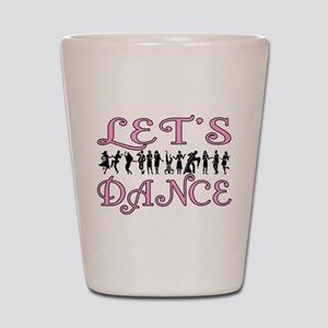 Let's Dance Shot Glass