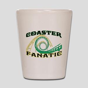 Coaster Fanatic Shot Glass