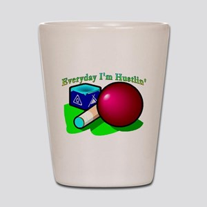 Hustle Everyday Shot Glass