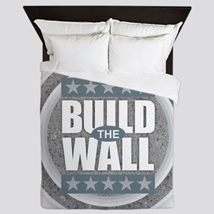 Build the Wall Queen Duvet