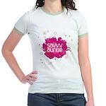 Savvy Auntie Jr. Ringer T-Shirt