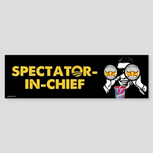 Spectator-in-Chief Sticker (Bumper)
