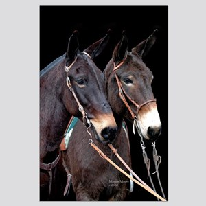 Mule Twosome Large Poster