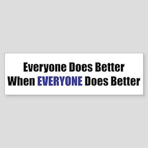 Everyone Bumper Sticker