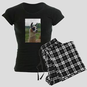 Spotted Llama Women's Dark Pajamas
